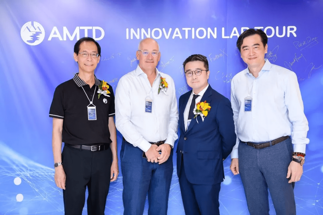 #HKFintech2019 Vol.1 | AMTD Innovation Lab Tour Led the Opening of the HK Fintech Week!