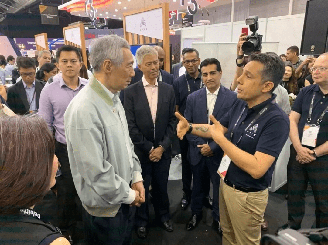 #AMTD x SFF Vol.7 | Lee Hsien Loong and Heng Swee Keat Successively Visited AFIN and its APIX Platform Jointly Initiated by AMTD Group and the Monetary Authority of Singapore