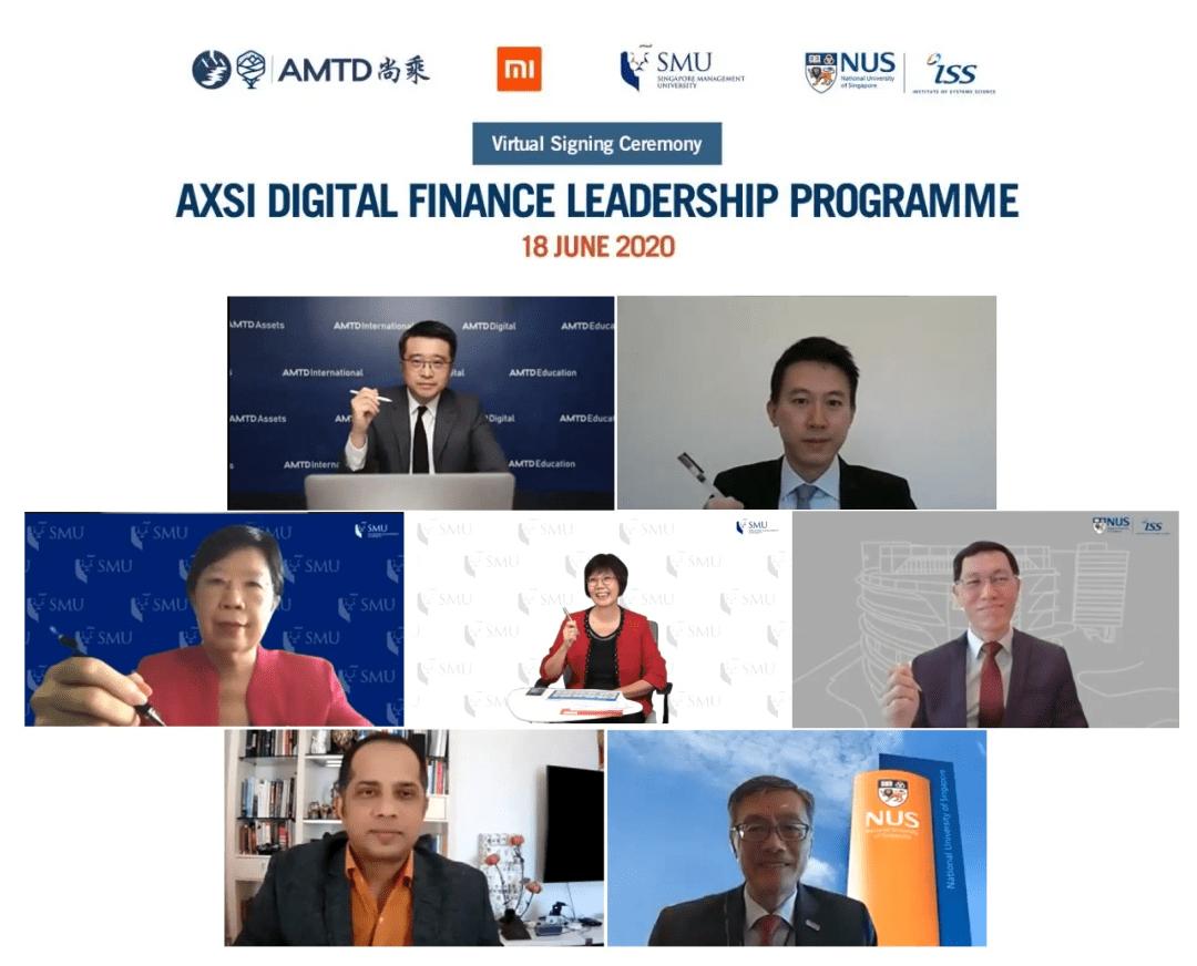 AMTD, Xiaomi Finance, SMU and ISS launch digital finance program