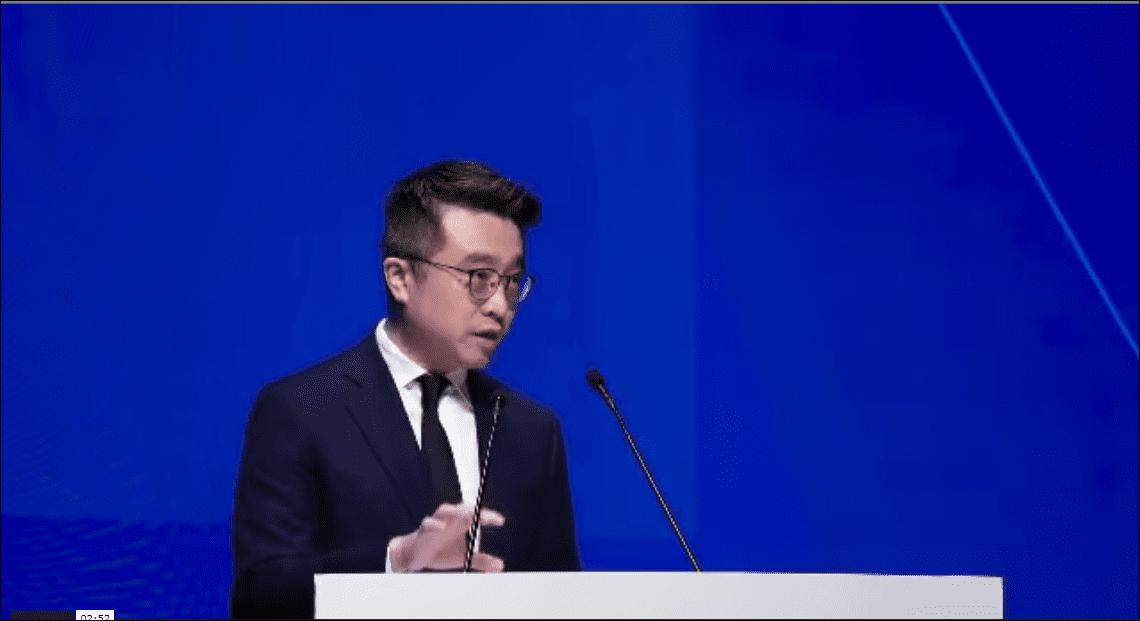#HKFintech2019 Part 3   Calvin Choi spoke at the opening ceremony of Hong Kong Fintech Week 2019