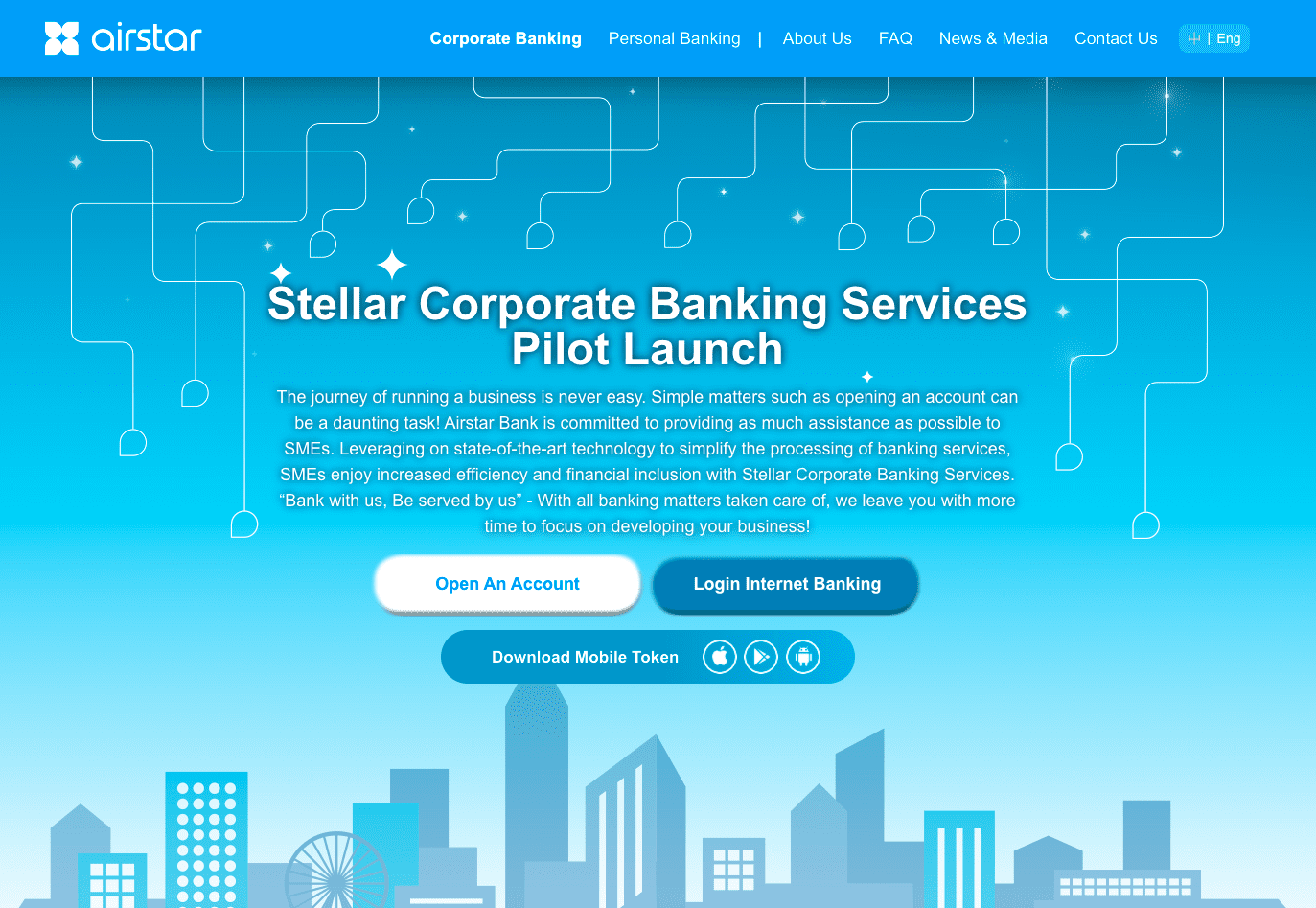 AMTD News | Airstar Bank launched Corporate Banking Service Pilot Trial