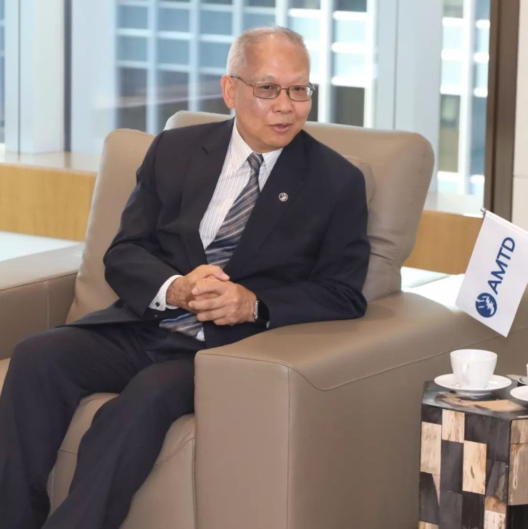 President-Designate of HKUST Professor Wei Shyy visits AMTD to discuss long-term cooperation on developing innovative technology in the Greater Bay Area