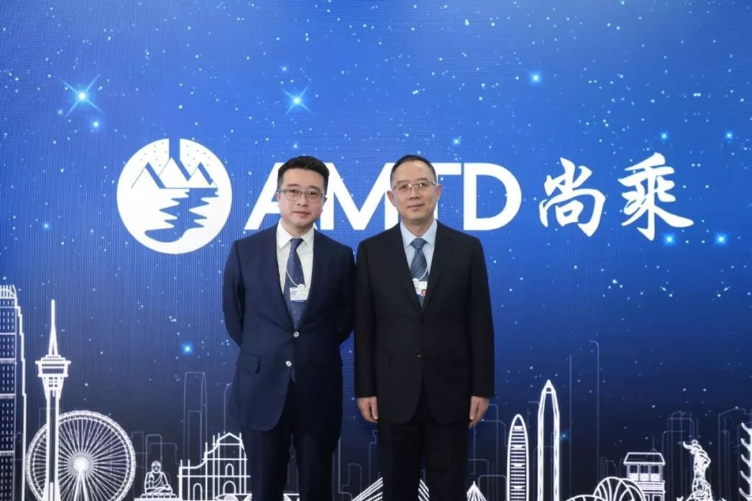 Jin Xiangjun, Deputy Mayor of Tianjin, leads Tianjin delegation to visit AMTD House, and hopes Tianjin and AMTD can further strengthen comprehensive cooperation to new heights